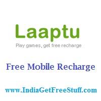 Laaptu Earn Free Mobile Recharge