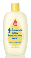 Free Sample | Johnsons Baby Top-to-Toe Wash