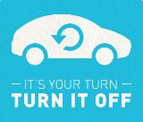 Free Stickers | Turn It Off Bumper Stickers