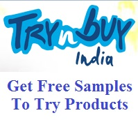 Trynbuy India Free Samples To Try Products | Free Stuff India