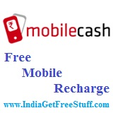 MobileCash Free Mobile Recharge