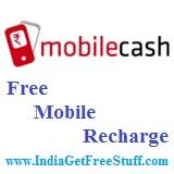 MobileCash Free Mobile Recharge