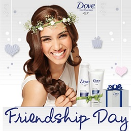 Dove Free Gift Hamper, Gifts on Friendship Day