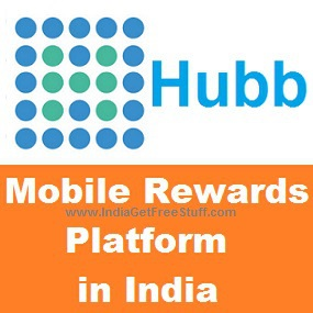 Hubb Mobile Rewards India Get Rs.20 Free Mobile Recharge Talktime