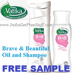 Dabur Vatika Brave and Beautiful Free Sample