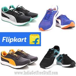 Puma Shoes Upto 61% Off on Flipkart