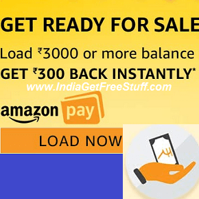 Amazon Pay Balance Cashback Offer