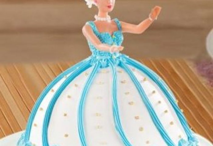Barbie Doll Fondant Cake Home Delivery Indiagift
