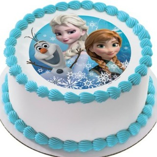 Frozen Photo Cake Home Delivery Indiagift