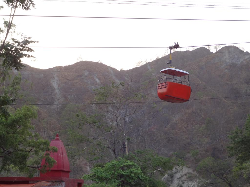cable car to Mansa devi temple Haridwar  India Travel