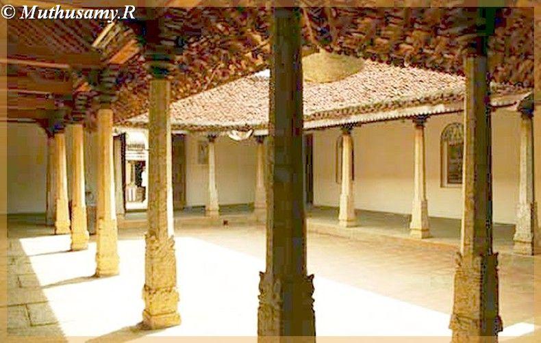 Dakshinachitra Inerior Courtyard Of Merchants House From