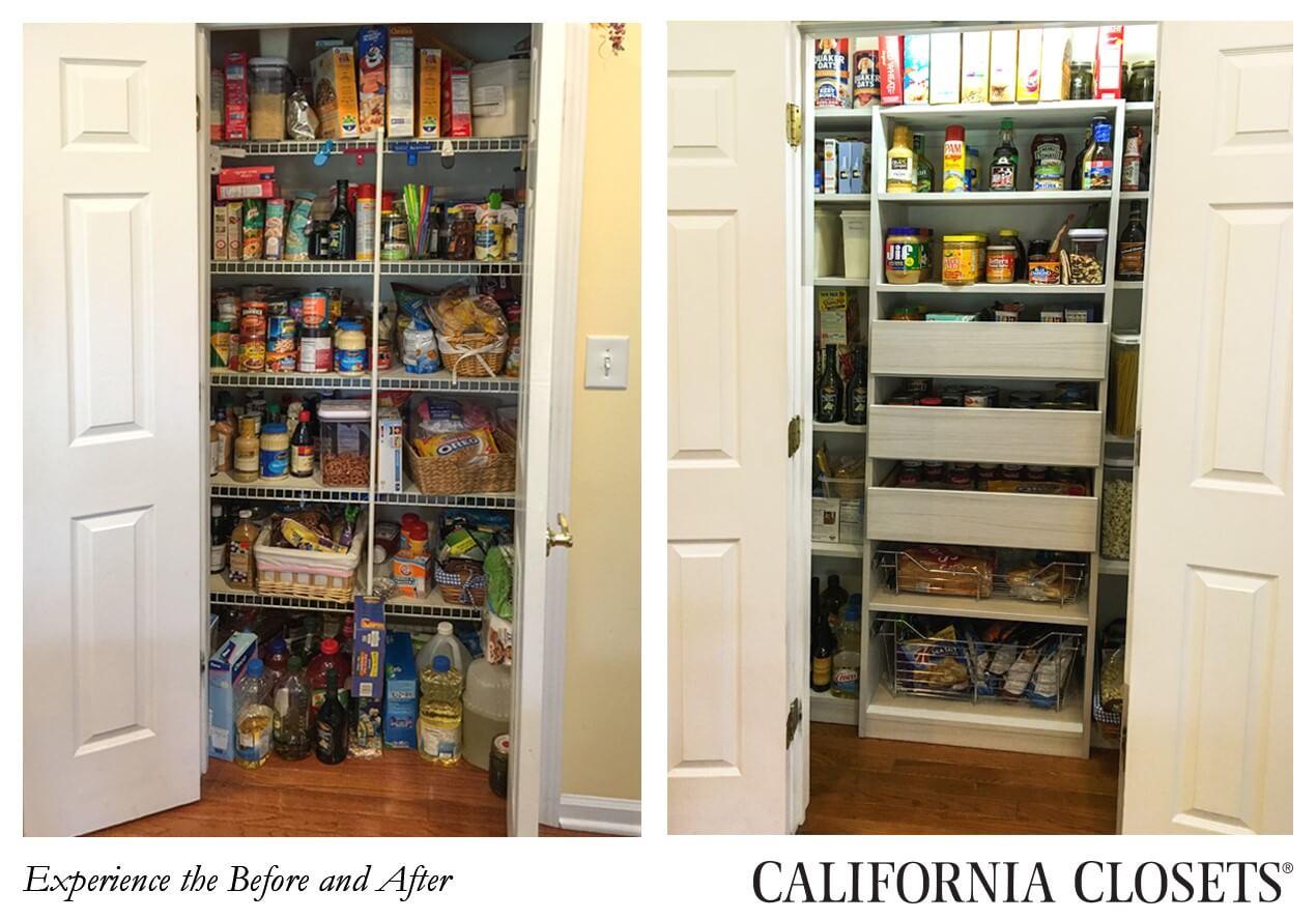 Charmant California Closets Pantry Design