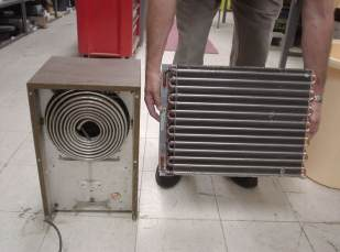 dehumidifier cold coil
