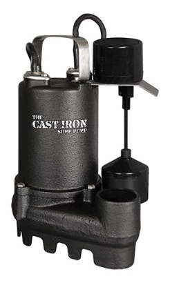 Cast Iron SafeDri Sump Pump
