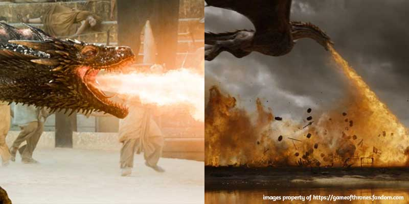 5 Commonalities Between Game of Thrones and Foundation Repair - Fire-Breathing Dragons, Heat, Humidity, and Destruction #summeriscoming