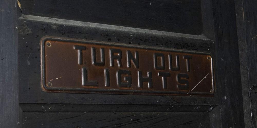 medium resolution of turn out light