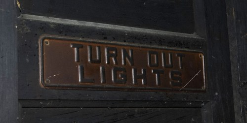 small resolution of turn out light