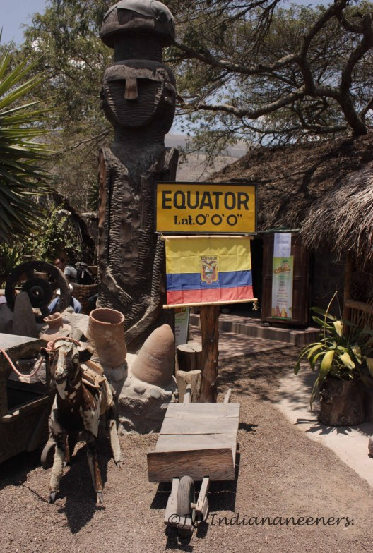 """Museo de Sitio Intinan located a short distance from the Mitad Del Mundo monument. Home of the """"true"""" equator!"""