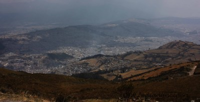 No other city in the world has as dramatic a setting as Quito.