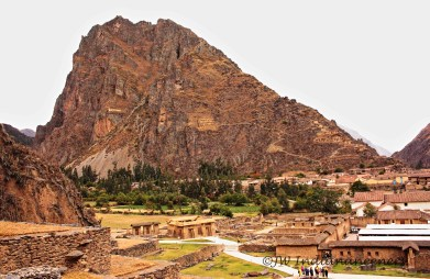 Inca ruins at Ollyantatambo.......although famed for Machu Picchu, there are a vast amount of impressive Inca ruins in The Sacred Valley.