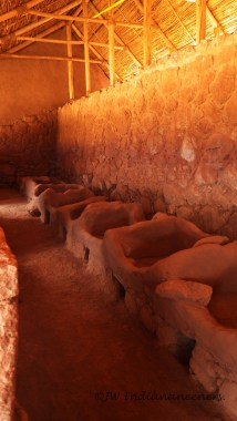 The cold-storage areas of the Cheqoq ruins