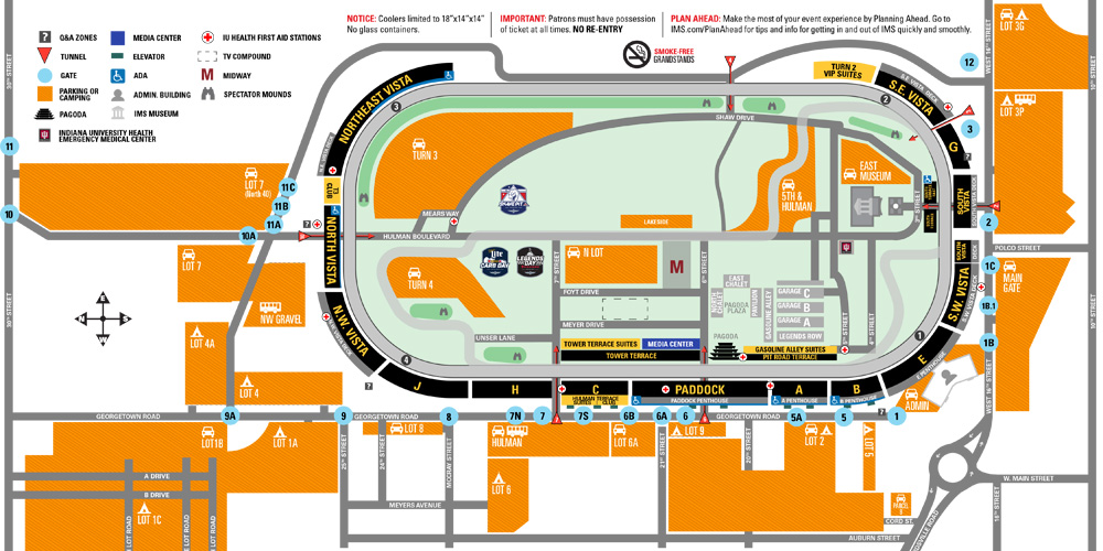 Important race day parking and transportation information all indianapolis motor speedway also rh indianapolismotorspeedway