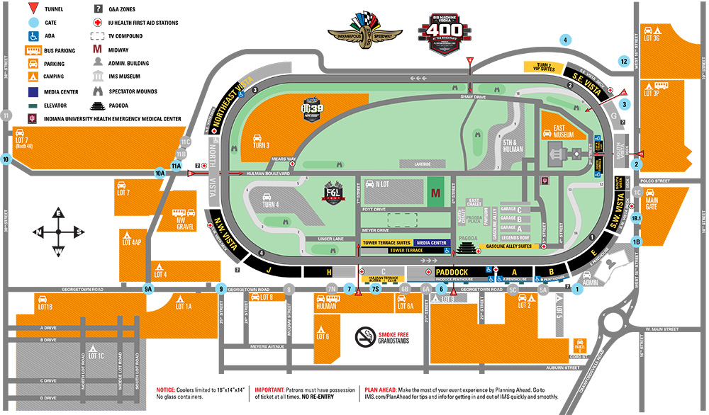 Non race day daily parking  tailgating also auto rh indianapolismotorspeedway