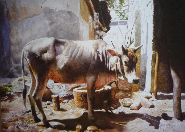 Painting Artwork 4736 Indian Artist Raghunath Sahoo