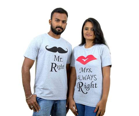 2422ffec57 Valentine's Day T-Shirts for Couples   Valentine's Day Tees   Indian ...