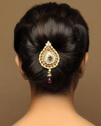 Indian Bridal Bun Hairstyles - Indian Beauty Tips