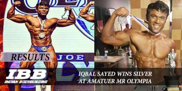 Iqbal Sayed Wins Silver At Anatuer Olympia