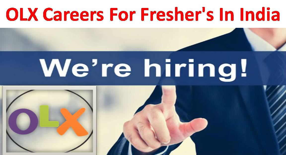olx careers for freshers ug  pg walk in for interview in india