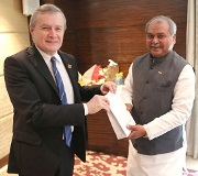 Union Minister of Steel & Mines meets Deputy Prime Minister of the Republic of Poland -indianbureaucracy