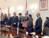 Agreement India & Croatia Economic Cooperation _indian Bureaucracy