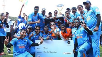 Vijay Goel Congratulates Indian Team for retaining T 20 World Cup for Blind Cricketers -Indian Bureaucracy