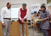 Rajiv Aggarwal lighting the lamp to launch the IPR -indianbureaucracy