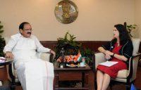 Ann Linde meets M.Venkaiah Naiduindianbureaucracy