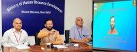 Prakash Javadekar launching Anti ragging Mobile Application -indianbureaucracy