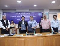 MoU signing between NBCC and MoUD