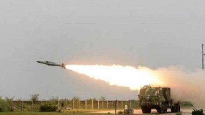 supersonic Akash missile