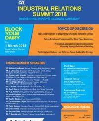 CII Industrial Relations Summit 2018