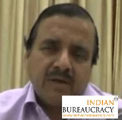 Chandra Prakash Tripathi IAS