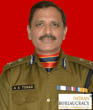Ajay Kumar Tomar IPS