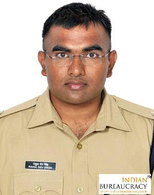 Rahul Dev Singh IPS