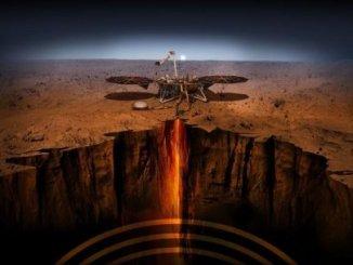 NASA InSight lander arrives on Martian surface