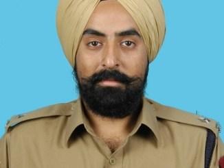 Amandeep Singh Kapoor IPS