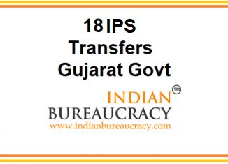 18 IPS transferred in Gujarat Police