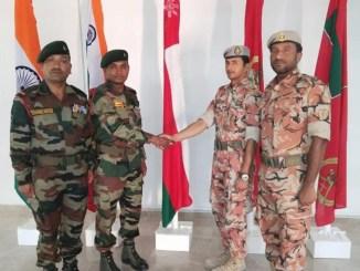 INDO-OMAN Joint Ex Al Nagah 2019