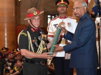 President of India presents the Gallantry Awards