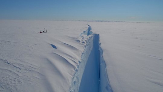 Large Antarctic Ice Shelf,